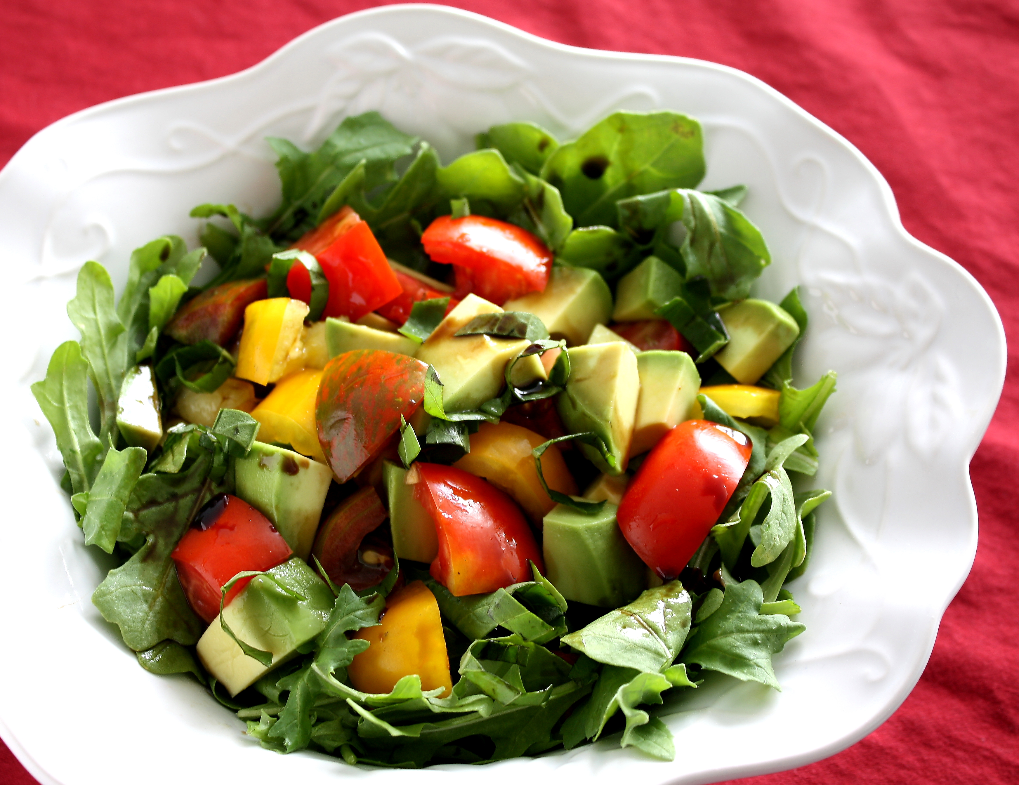 Heirloom Tomato Salad0005 1024x788 Dont Ruin A Healthy Salad With ...